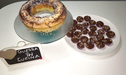 Ciambellone e mini muffin