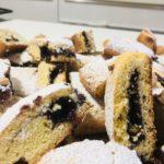 Biscotti alla marmellata d'uva (la scrucchiata)