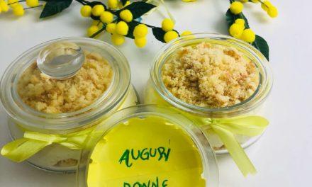 Torta Mimosa al bicchiere